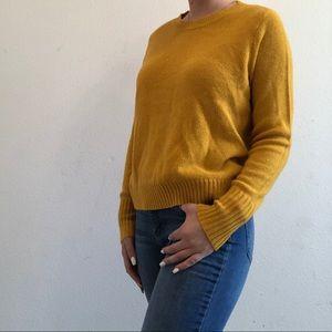 Soft Mustard Sweater